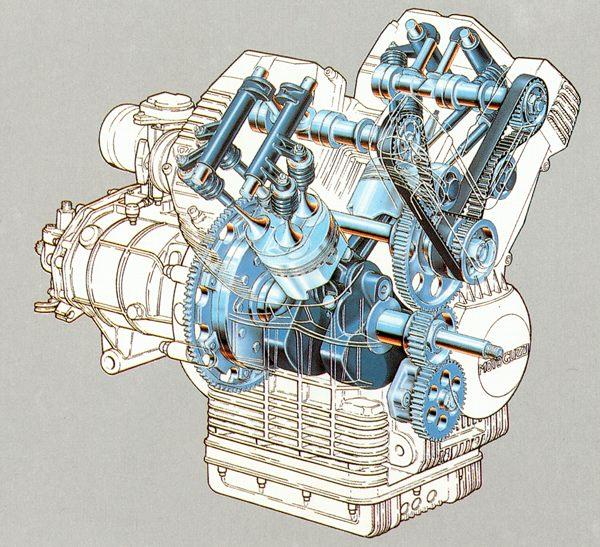 Cog Moto Guzzi Centauro Owners Group Articles Engine